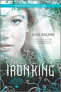 The cover of the book The Iron King