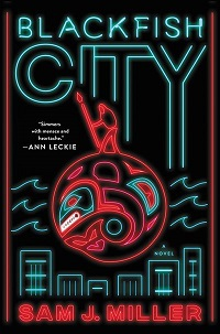 The cover of the book Blackfish City