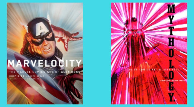 An image representing the article Enter Our Sweepstakes and Win an Alex Ross Comics Art Collection!