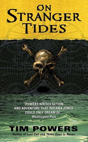 The cover of the book On Stranger Tides