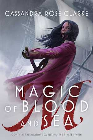 The cover of the book Magic of Blood and Sea