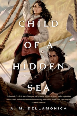 The cover of the book Child of a Hidden Sea
