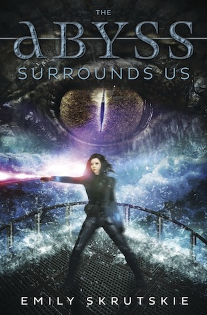 The cover of the book The Abyss Surrounds Us