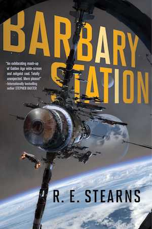 The cover of the book Barbary Station