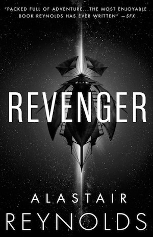 The cover of the book Revenger