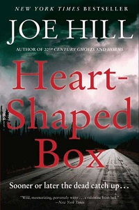 The cover of the book Heart-Shaped Box