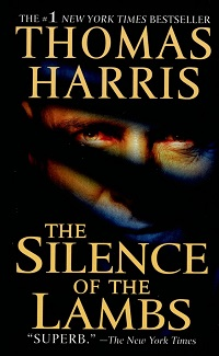 The cover of the book The Silence of the Lambs