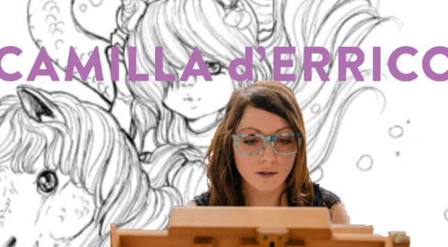 An image representing the article Artist Camilla d'Errico on Mermaids, Imagination, and Pop Manga